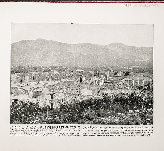 General view of Pompeii,--Near the so-called River of Styx, made famous in classic poetry