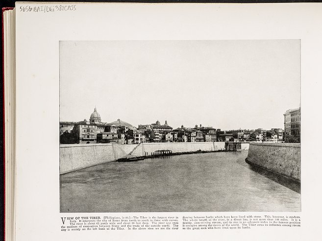 View of the Tiber