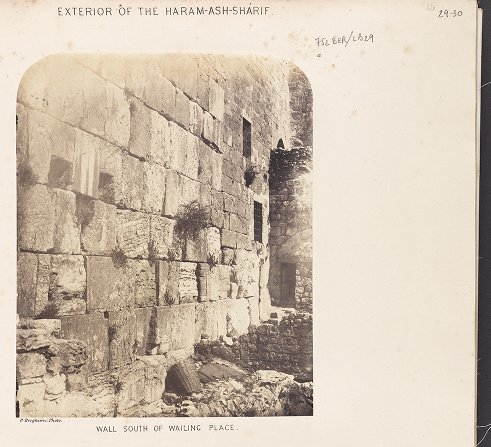 Exterior of the Haram-ash-Sharif :