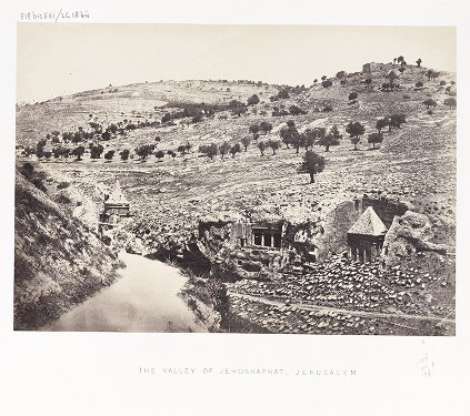 The Valley of Jehosaphat, Jerusalem