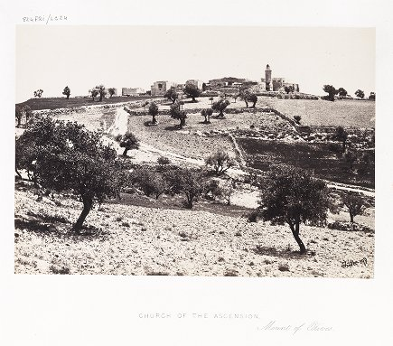 Church of the Ascension, Mount of Olives