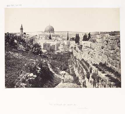 The Mosque of Omar, &c., Jerusalem