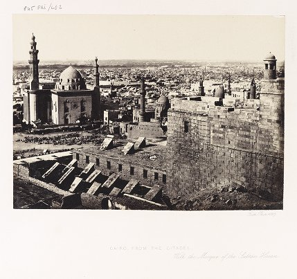 Cairo, From the Citadel, With the Mosque of the Sultan Hasan