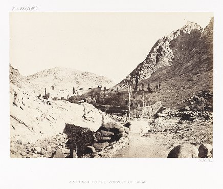 Approach to the Convent of Sinai