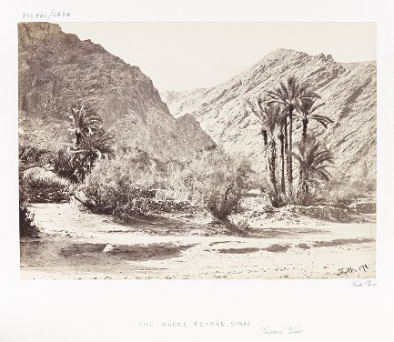 The Wádee Feyrán, Sinai, Second View