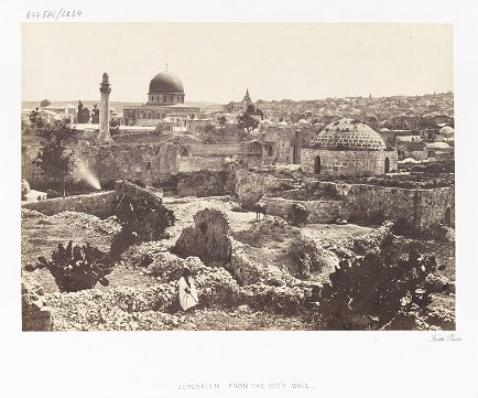 Jerusalem from the City Wall