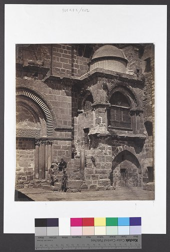 Porch of the Holy Sepulcre 1857