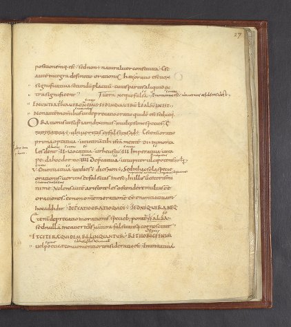 Lawrence J. Schoenberg Collection: LJS 101 - Boethius, -524 - Periermenias Aristotelis ... [etc.]