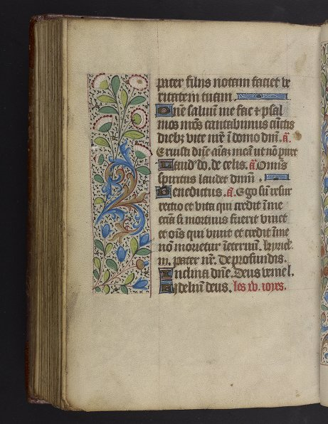 Medieval & Renaissance Manuscripts Collection: Ms. Codex 1056 - Catholic Church - [Book of hours : use of Rouen]