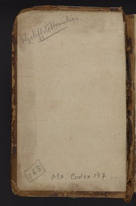 Medieval & Renaissance Manuscripts Collection: Ms. Codex 197 - [Contemplations of the dread and love of God] ... [etc.]