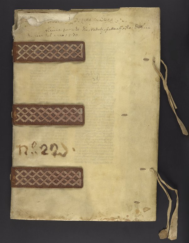 Medieval & Renaissance Manuscripts Collection: Ms. Codex 323 - Siena (Italy) Governatore - [Schedule of tariffs on goods entering the city of Siena]