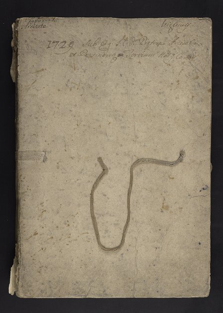 """Other: Ms. Codex 368 - Minutes of March 1729 """"sub J.C.D. pre[fet]tore Viglunii """", from Arcisate (territory of Milan, Italy)"""