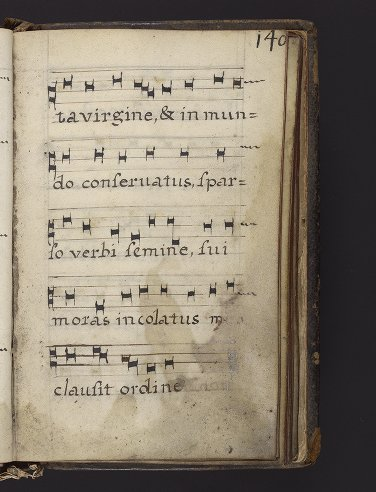 Medieval & Renaissance Manuscripts Collection: Ms. Codex 713 - Catholic Church - [Collection of hymns and antiphons]