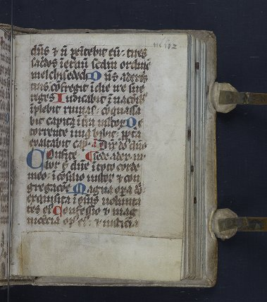 Medieval & Renaissance Manuscripts Collection: Ms. Codex 1057 - Catholic Church - [Ferial psalter]